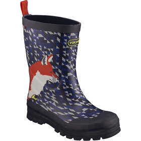 Viking Footwear Big Fox Boots Kinder navy/multi